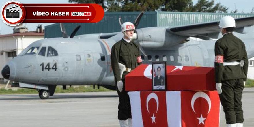 Azez şehidi Yüzbaşı Celalettin Özdemir son yolculuğunauğurlandı