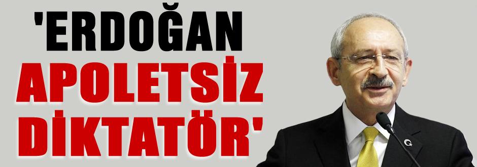 Erdoğan apoletsiz diktatör