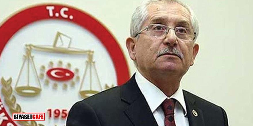 YSK Başkanı Sadi Güven'den karar açıklaması