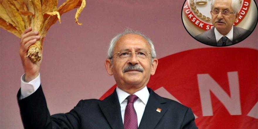 YSK'dan Kılıçdaroğlu'na kınama