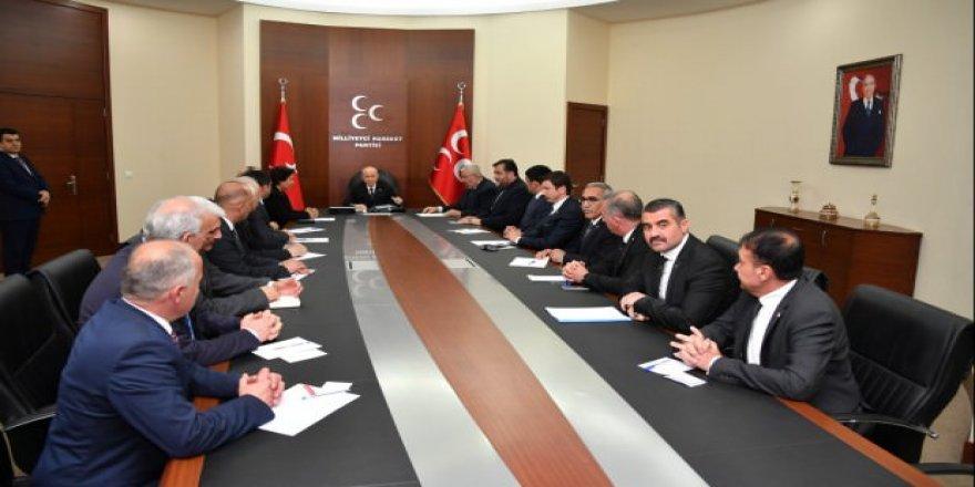 Bahçeli Güneydoğu'dan 16 il başkanını toplantıya çağırdı