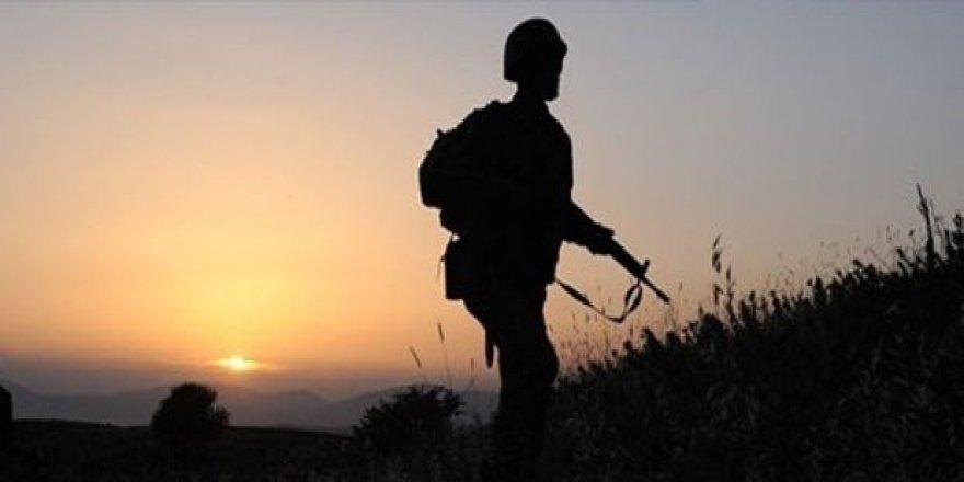 Irak sınırında 1 askerimiz şehit oldu