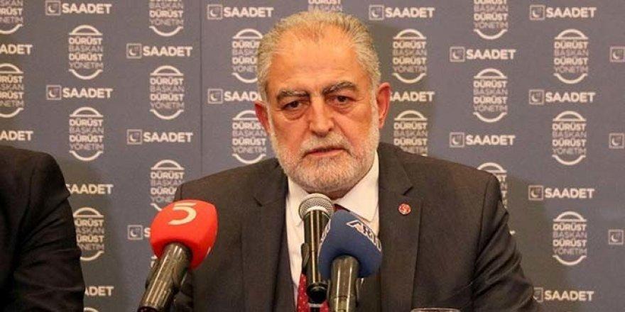 Saadet Partisi İstanbul seçimine kendi adayı ile katılacak!