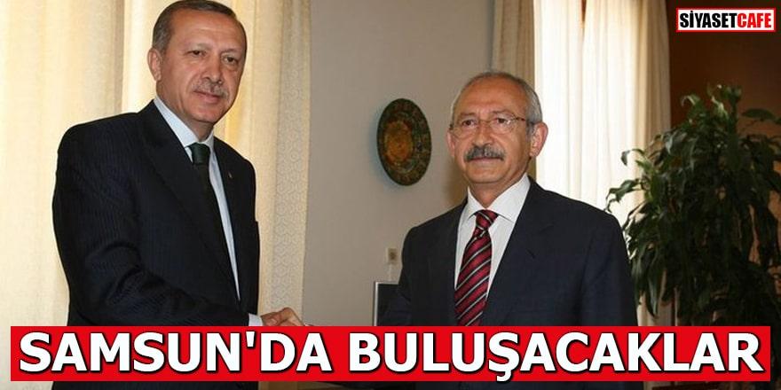 Cumhurbaşkanı Erdoğan ve Kılıçdaroğlu Samsun'da buluşacak