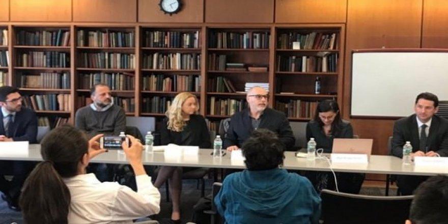 İmamoğlu için ABD'de ortak panel düzenlendi