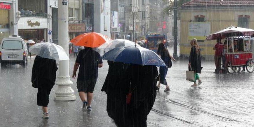 Meteoroloji uyardı: Çok kuvvetli yağmur geliyor