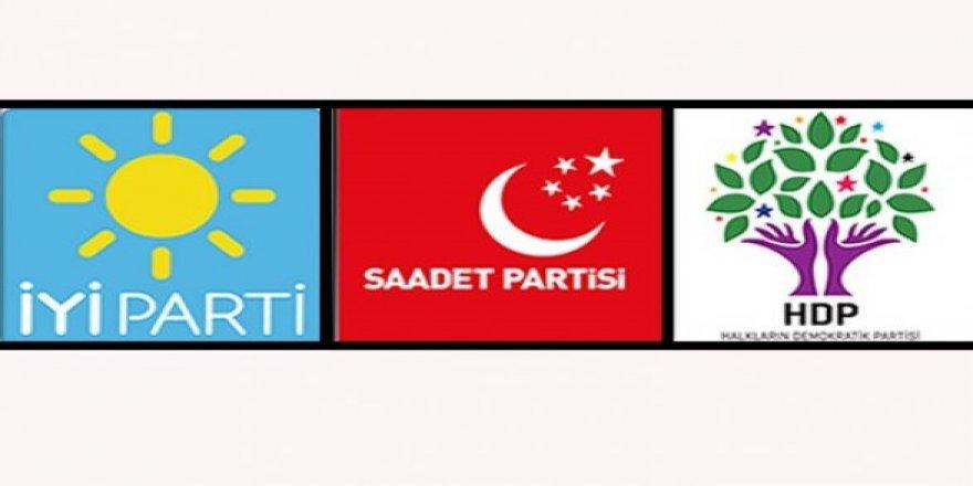 İYİ Parti Saadet ve HDP ile yarıştı!