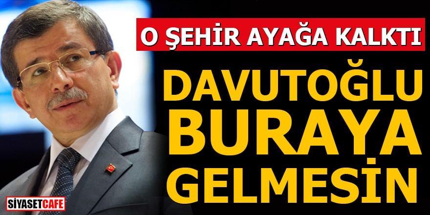 Diyarbakır'da Ahmet Davutoğlu ayaklanması!