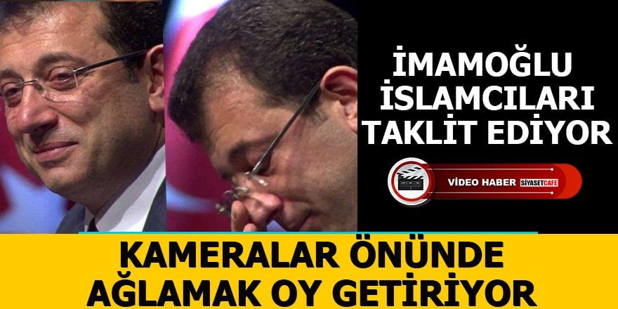 Ekrem İmamoğlu İslamcıları taklit ediyor