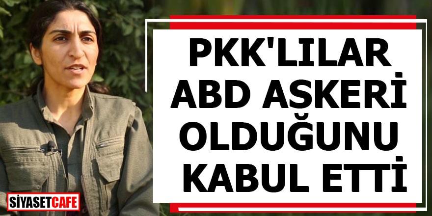 PKK'lılar ABD askeri olduğunu açıkladı