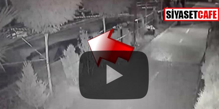 Şanlıurfa'da sahil yolu yıkıldı! Vatandaş son anda kurtuldu