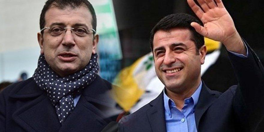 Demirtaş'ran İmamoğlu'na: Umudu kişilere bağlamak doğru değil