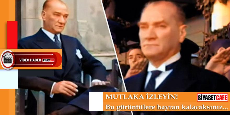 """""""Yapay Zeka ile Renklendirilmiş Atatürk Videosu"""" rekor kırıyor"""