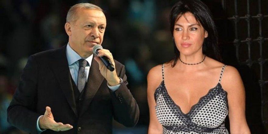 Tuğba Ekinci'nin Erdoğan övgüsü sosyal medyayı salladı