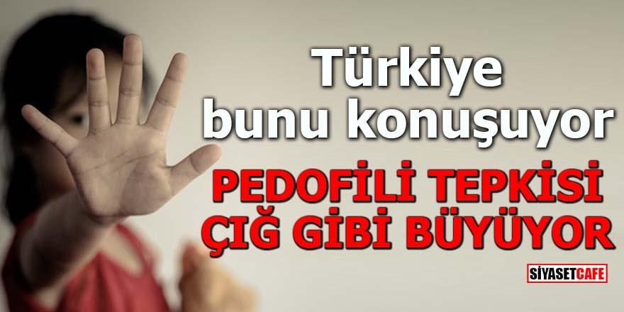 Türkiye bunu konuşuyor Pedofili tepkisi çığ gibi büyüyor
