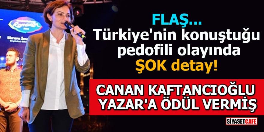 CHP'li Kaftancıoğlu pedofilciye ödül vermiş