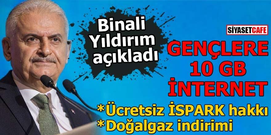 Binali Yıldırım'dan İstanbullulara müjde! Gençlere, kadınlara destek