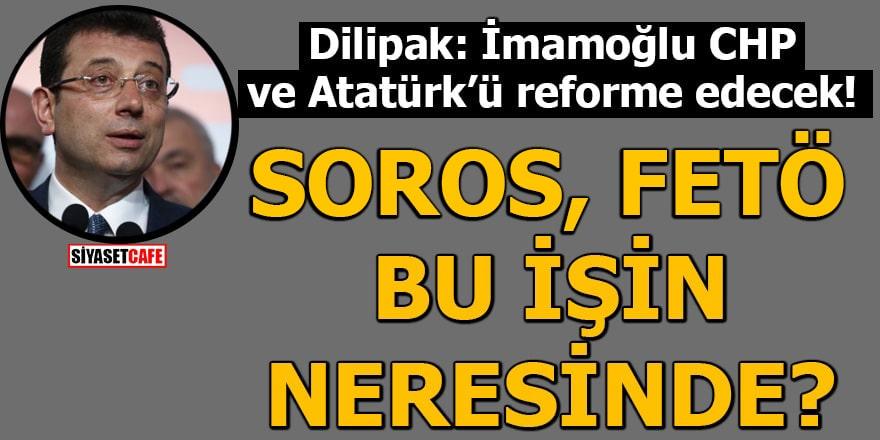 Abdurrahman Dilipak yakıştırdı!  'Yeni CHP'ye İmamoğlu çok yakışıyor'