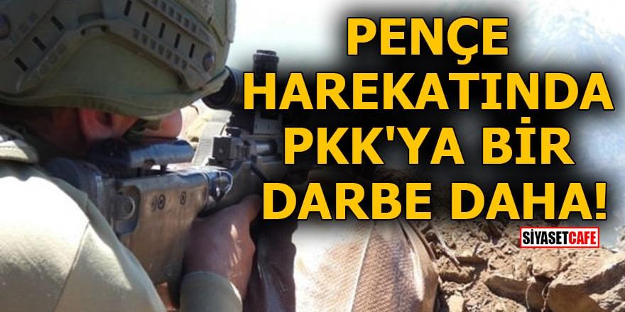 Pençe harekatında PKK'ya bir darbe daha!