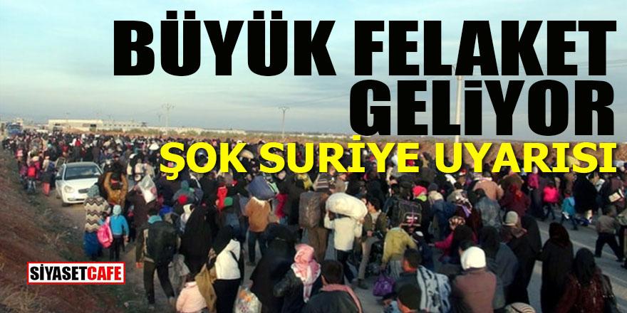 BM'den flaş Suriye uyarısı: Büyük felaket geliyor!