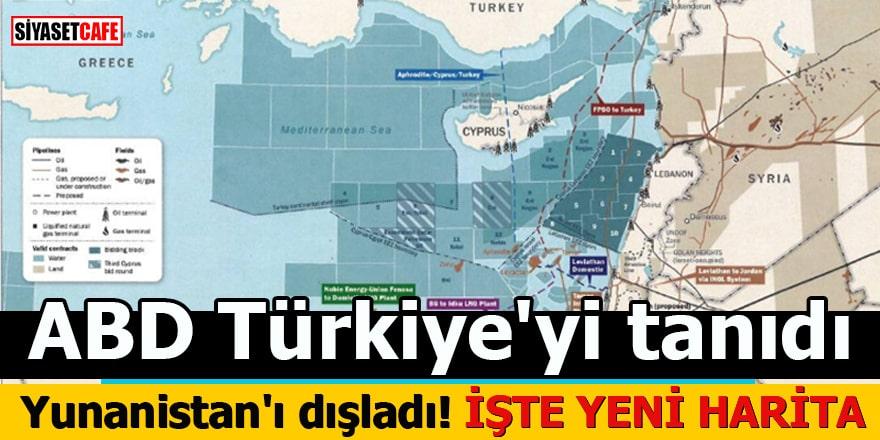 ABD Türkiye'yi tanıdı Yunanistan'ı dışladı İşte yeni harita