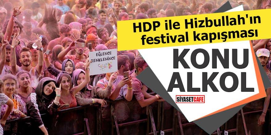 HDP ile Hizbullah'ın festival kapışması KONU ALKOL