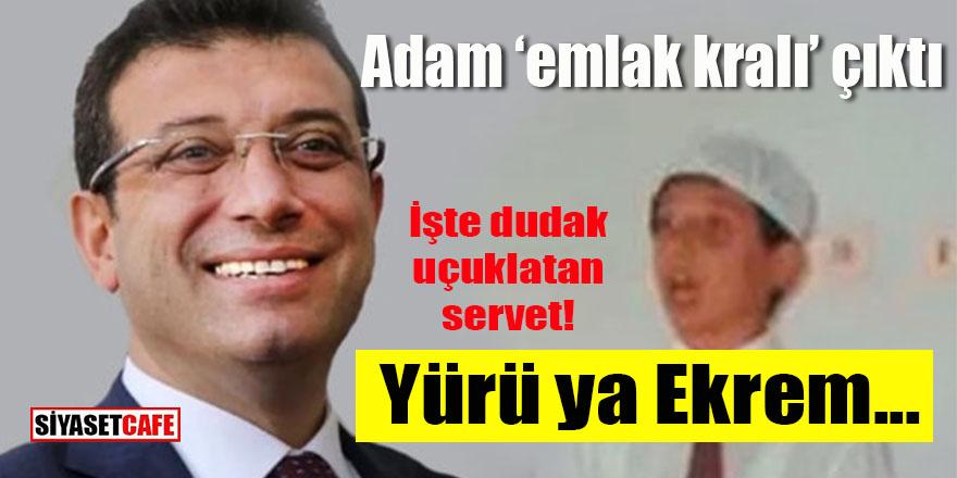 """Ekrem Bey """"emlak kralı"""" çıktı!"""