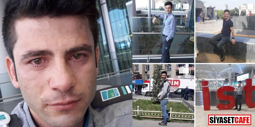 İstanbul Havalimanı'nda şok intihar