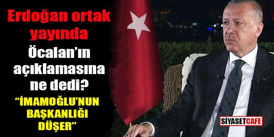 Erdoğan'dan İBB seçimi öncesi flaş açıklamalar: İmamoğlu'nun başkanlığı düşer!