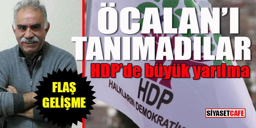 HDP'de büyük yarılma: Öcalan'ı tanımadılar