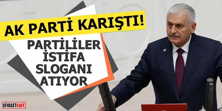 AK Parti karıştı! Partililer istifa sloganı atıyor