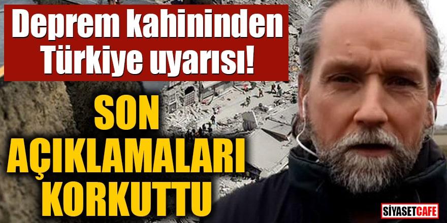 Deprem kahininden Türkiye uyarısı! Son açıklamaları korkuttu