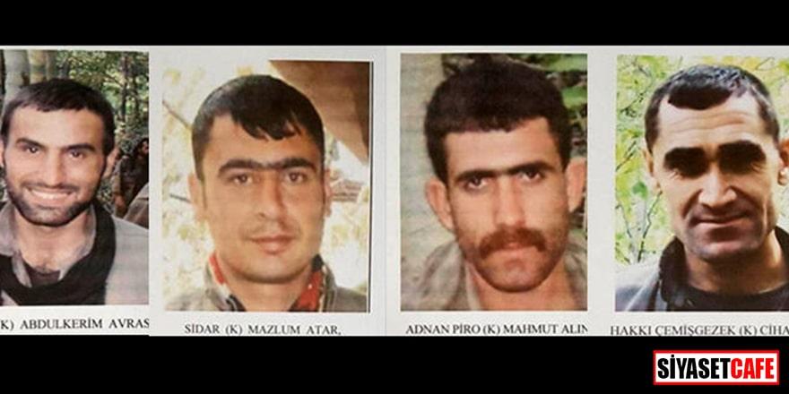 PKK'nın Lider kadrosuna infaz