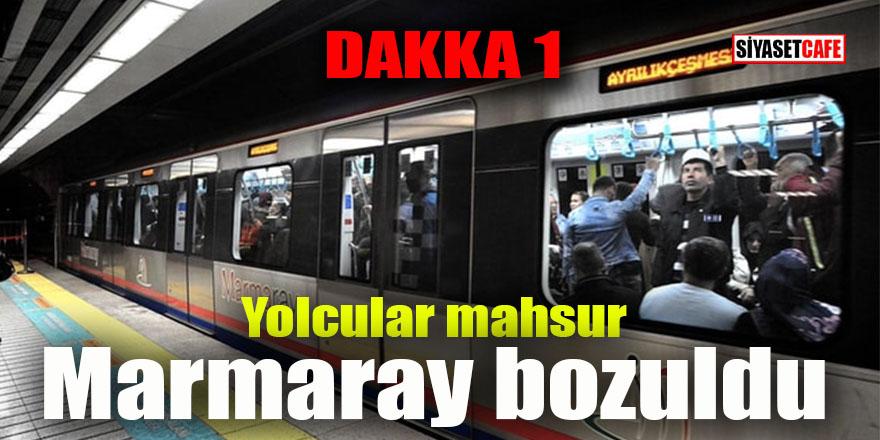 Dakka bir: Marmaray bozuldu!