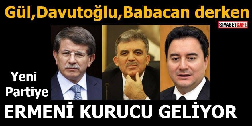 Flaş iddia! Ermeni Aron yeni Parti'nin kurucusu oluyor