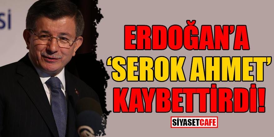 """Erdoğan'a """"Serok Ahmet"""" kaybettirdi"""