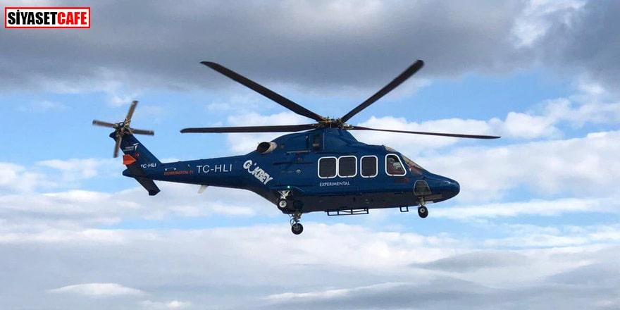 Yerli helikopter Gökbey T625 ilk kez gökyüzüyle buluştu