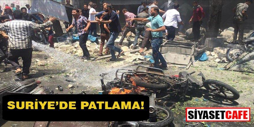 Suriye'de eş zamanlı patlamalar!
