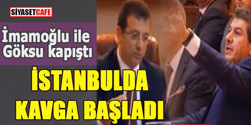 İmamoğlu ile Göksu kapıştı, İstanbul'da kavga başladı!