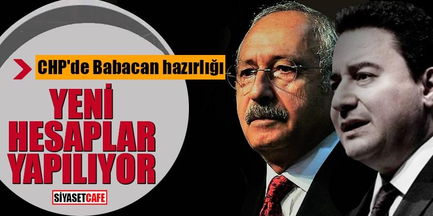 CHP'de Babacan hazırlığı Yeni hesaplar yapılıyor