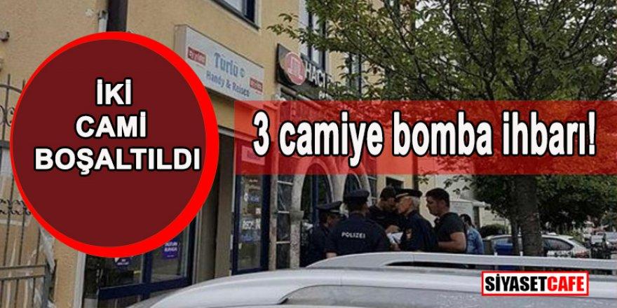 Camilere bomba ihbarı