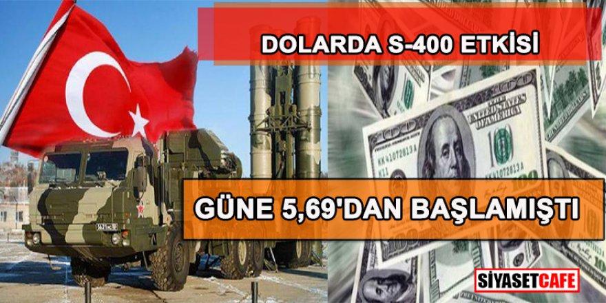 Dolarda S-400 etkisinde son durum
