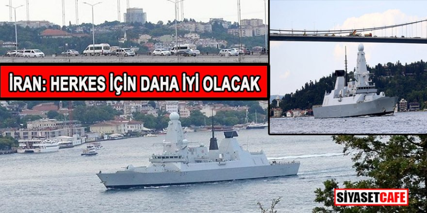 İstanbul Boğazı'ndan geçen savaş gemisi hakkında şok iddia