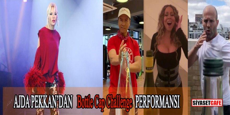 Ajda Pekkan'dan Bottle Cap Challenge katılımı