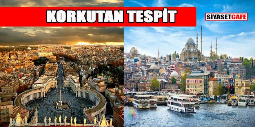 Şehirlerin 2050 haritası: İstanbul Roma'ya İzmir ise...