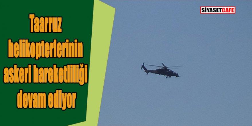 Yüksekova semalarında taarruz helikopterleri