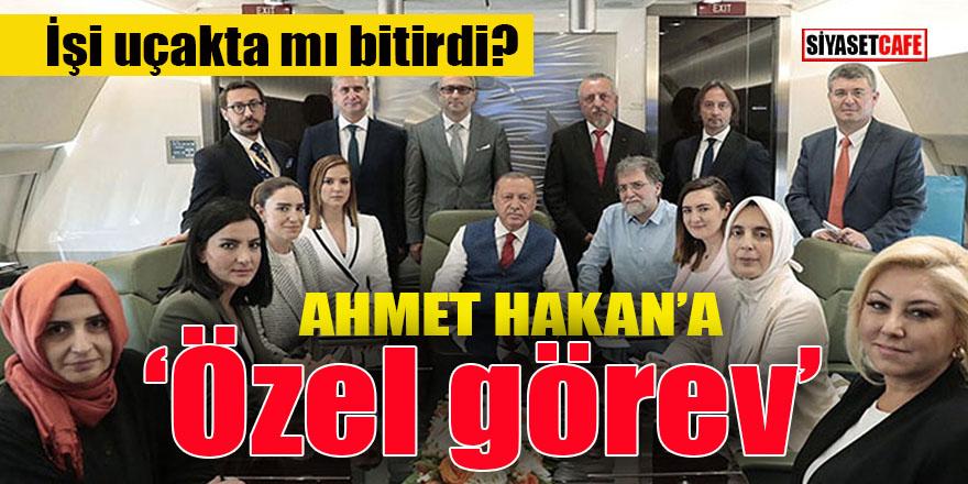 Ahmet Hakan başına geçiyor: İşi uçakta mı bitirdi?