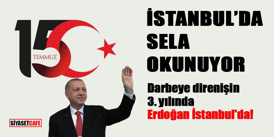 İstanbul'da sela okunuyor!