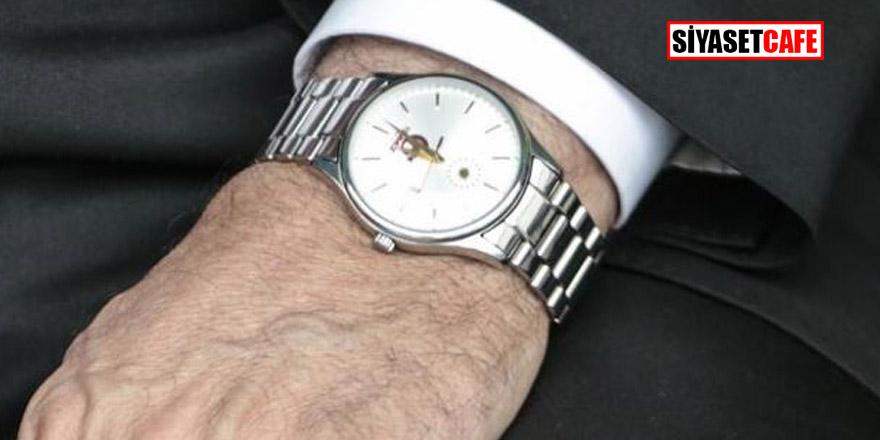 Erdoğan'ın 15 Temmuz'a özel saati göz kamaştırdı