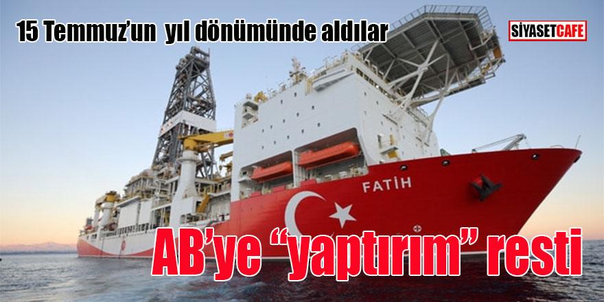 """Türkiye'den AB'ye """"yaptırım"""" resti"""